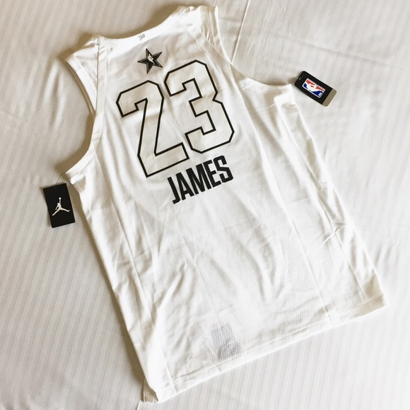 2916e458e3f Jordan Lebron James All Star Jersey LA 928868-100